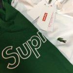 Supreme LACOSTE Track Jacket Kelly Green